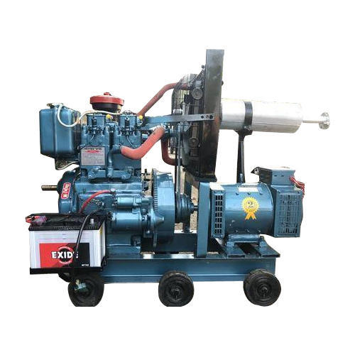 Non Silent 7 5 Kva Diesel Generator Rs 40000 Piece J S Electrical Works Id 19461004848