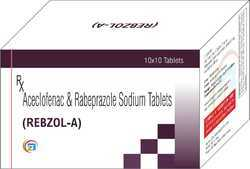 Rabeprazole Sodium 20mg,Aceclofenac 200mg Tablet