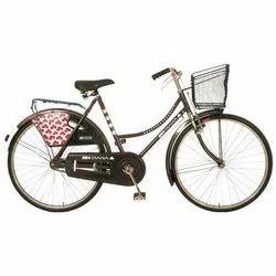 Brown BSA Diana Burgundy Ladies Bicycle