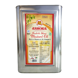 Ashoka Kachchi Ghani Mustard Oil, Packaging: 15 kg Tin