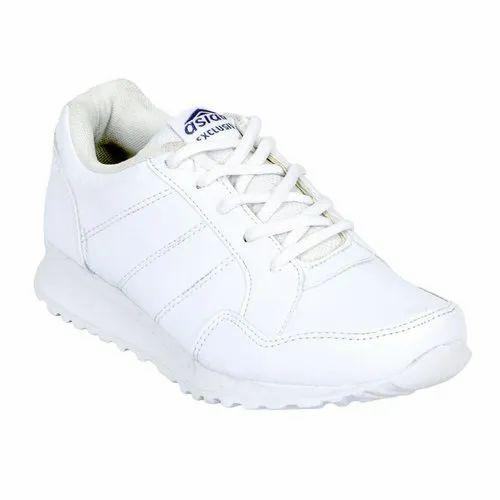 School Wear White TOPPER(L) School Shoes