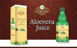 Diamond Aloevera Juice, Packaging Type: Bottle