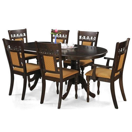Large Dining Table Set