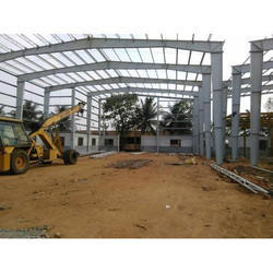 Steel Material Godown Shed