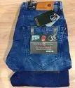 Denim Casual Wear Men Plain Jeans, Waist Size: 28 To 36