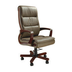 Fixed Arm CEO Chair