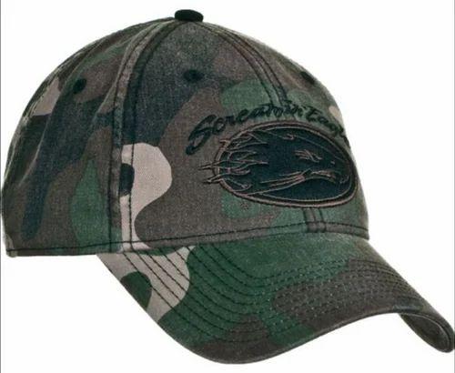 ALPS Navy, White Cotton Hat, Size: S, M, L, XL, XXL, Rs 77