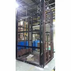 Mild Steel Industrial Goods Lift