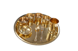 Royal Thali Set Hammered