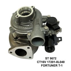 CT16V 17201-0L040 Fortuner Turbo Core