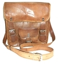 Beautiful Goat Leather Messenger Bag