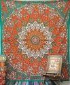 Mandala Star Tapestry
