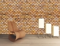 Euro Mosaic Tiles Wooden