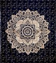 Cotton Ombre Mandala Printed  Double Duvet Rajai Cover
