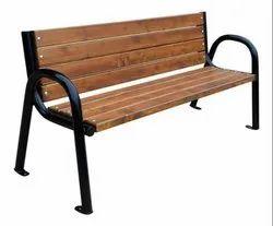 Backrest Garden Bench