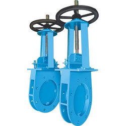 Manually Operated Knife Edge Gate Valve