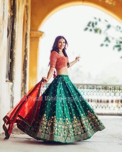 098d0192f95f01 Floral Embroidered Designer Party Wear Lehenga Choli, Rs 799 /piece ...
