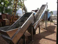 U Type Stainless Steel Screw Conveyor