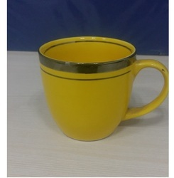 Ceramic Yellow Coffee Cup