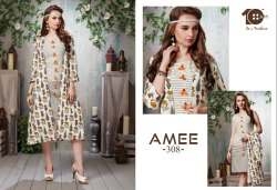 10AM Long Jacket Style Kurtis