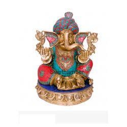 Turban Ganesha Brass