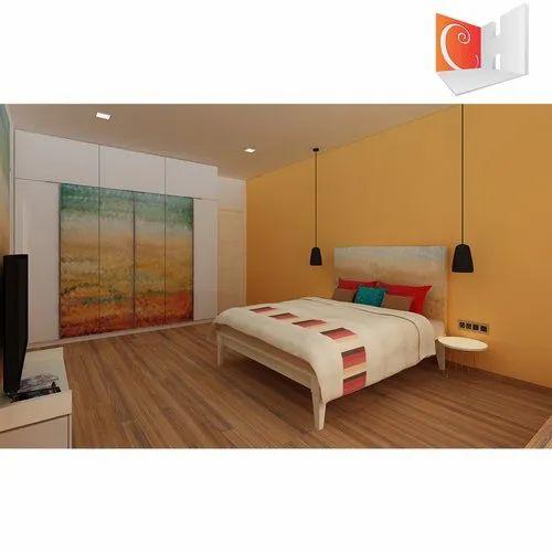Bedroom Interior Designing Art Series, Area / Size: 150sqft