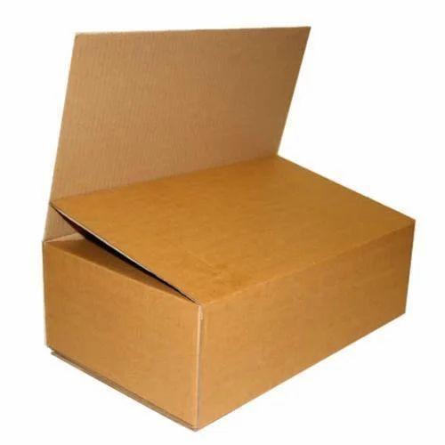 Cardboard Rectangle Varnished Cartons, for Apparel, Box Capacity: 1-5 Kg