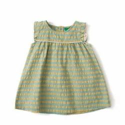 100% Cotton Fair Trade Seer Sucker Frock