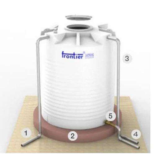 Frontier Fvw 1001 1000 L Supreme Mono Foam 3 Layers Insulated Water Storage Tanks Frontier Water Storage Tanks Frontier Polymers Pvt Ltd New Delhi Id 19917645697