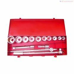 3/4 Drive Socket Set - Bi Hex - CRV E-2222E