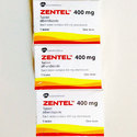 Zentel Tablet  400 mg