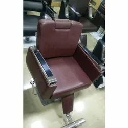 Brown Leather Salon Chairs