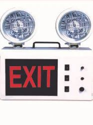 WAY OUT LED Industrial Emergency Light, Mounting Type: Wall Mounted and Table Top