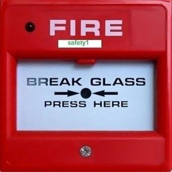 Plastic Red Fire Alarm Manual Call Point