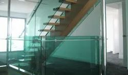 Transparent Fixon 4mm to 30mm Toughed Glass, Shape: Flat