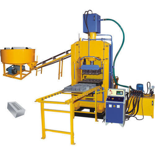 Automatic Vibro With High Pressure Machine For Making Fly Ash Bricks