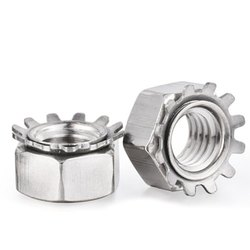 Sarvpar Stainless Steel And Mild Steel Keps Nut