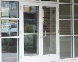 Plain Glass Door, for Office