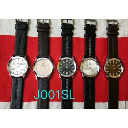 Black Newleaf Mens Analog Wrist Watch, Packaging Type: Box, J001SL
