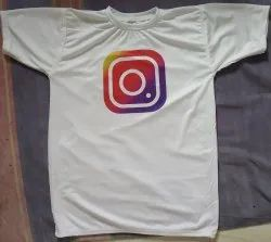 Polyester Mens T Shirts Printing Services