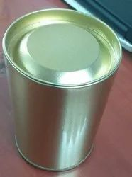 Green Tea Tin Container