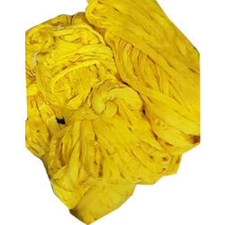 普通黄色棉纱,用于纺织工业
