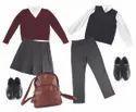 Gingham School Checks Uniform Fabric