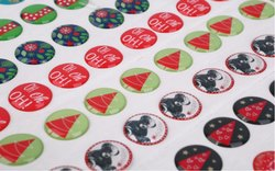 Dome Stickers Epoxy, Packaging Type: Packet