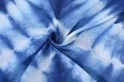 Shibori Cotton Fabric Indian 100% Cotton Dyed Shibori Dress Making Fabric Tie Dye Fabric