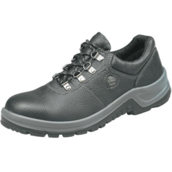 Black PVC Bata Shock Resistant Shoes