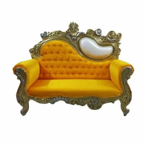 Yellow Wedding Sofa