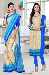 Uniform Saree and Salwar for hotel staff