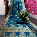 Fancy Banarasi Soft Silk Saree