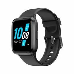 Square Rubber Ambrane Pulse Full Touch Control Smart Watch (Black), Pan India
